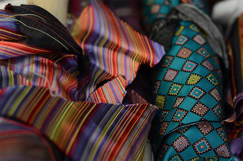 Silk fabrics from the Dresswear Collection
